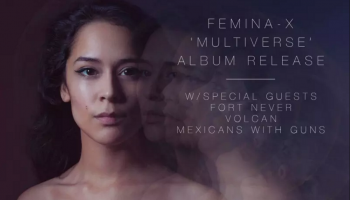 Femina-X Announces Debut Album 'Multiverse' and Release Show March 11th