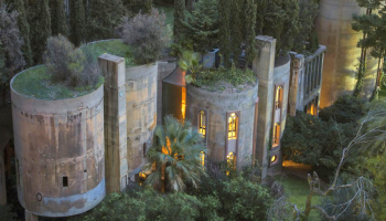 Architect Transforms Adandoned Cement Factory Into Amazing Palace-like Home