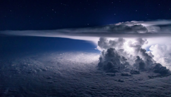 Airline Pilot Captures Unbelievable Photos of Earth's Weather from Within Cockpit