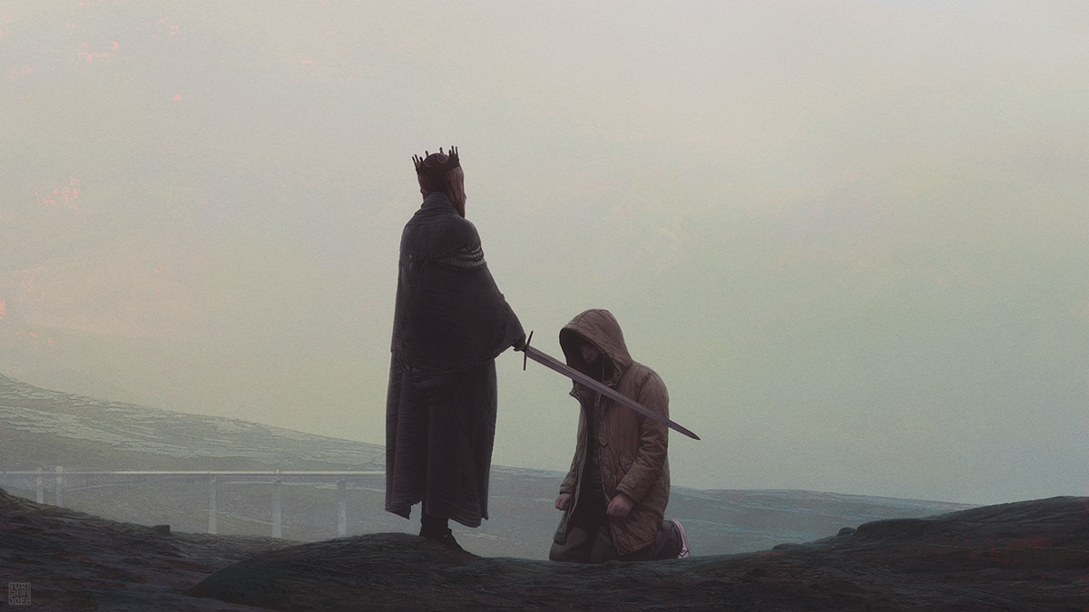 YShwedoff-Queen and the knight